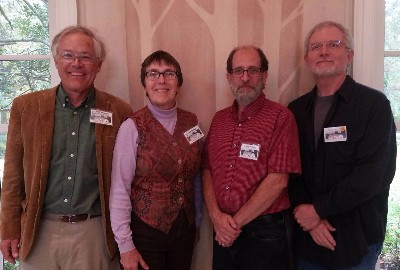 From left: Jim Richardson, Jane Terebey, Mark Walter, Dave Moore
