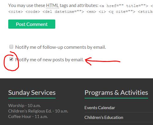 Comms - Follow Posts