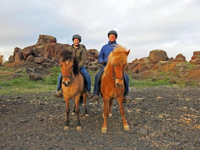 Dick Barbara Desert Horses 700x
