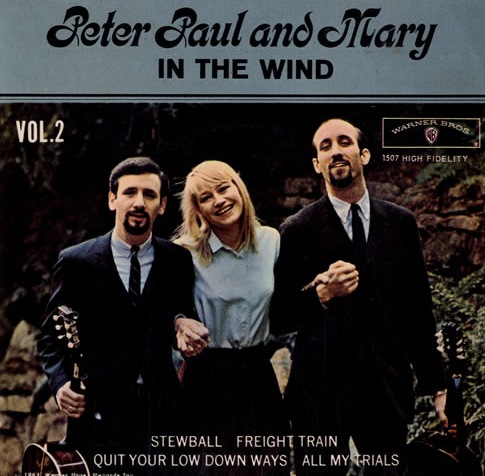 freight train peter paul mary