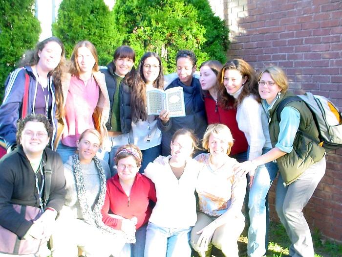 my graduating class from Yale Midwifery School, 2007