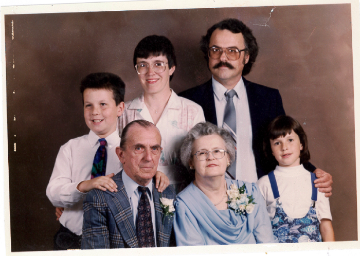 May 1991, Jane's parents' 50th Wedding Anniversary