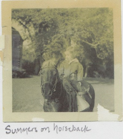 Judy Hedges - Summers on horseback 400x