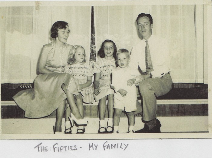 Judy Hedges - family 50s 700x