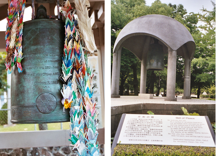 Peace bells Honolulu and Hiroshima