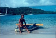 Ken in Tobago Keys 1981