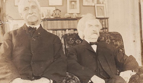 Joseph Twichell and Mark Twain