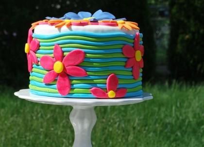 Cake for blog post