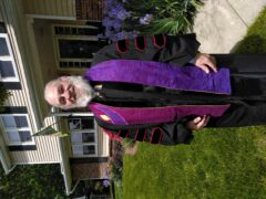 Rev. Dr. Richard Speck in academic regalia
